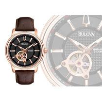 Relógio Automático Bulova 21 Jóias Importado U. S . A