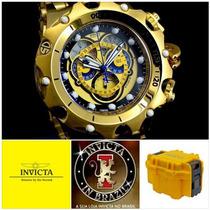 Invicta 16804 Original B.ouro 18k Leia Original X Réplica