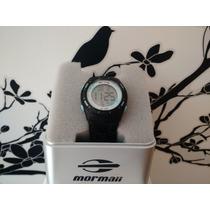 Relógio Feminino Digital Mormaii Yp9465/8e - Preto/azul