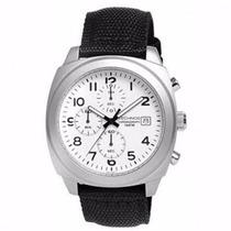 Relógio Technos Vd57al/8b Pulseira Nylon Cronógrafo Novo Nfe