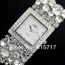 Relógio Feminino.. Pulseira Linda. Super Elegante (promoção)