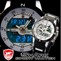 Relógio Shark Sport Watch Porbeagle Pronta Entrega