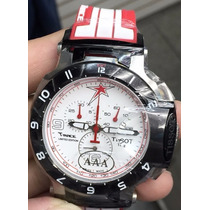 Relógio T-race Vermelho Tissot Gp Original Tissot Tissot 12x