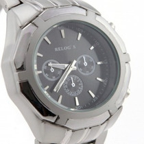 Relógio Elegante E Jovem( Exemplo Da Foto Com Visor Preto) (