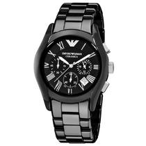 Relógio Emporio Armani Ar1400 Cerâmica Original Sem Caixa