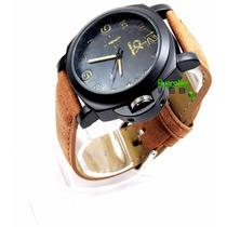 Relógio Masculino Ck Calvin Klein Pulseira Couro Muito Barat