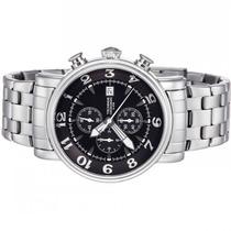 Relógio Technos Cronógrafo Aço Masculino 10 Atm Os10cs/1m