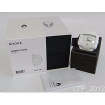Relógio Analógico Nixon Rubber Player Branco ( A139 100)