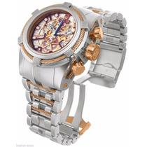 Relógio Invicta Bolt Zeus Skeleton 14428 Jt + Maleta
