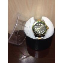 Relógio Submariner Misto Fundo Verde