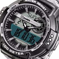 X Games Orient Masculino Anadigi Cronografo Xmpsa020 100 M