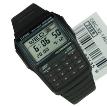 Relogio Casio Dbc-32 A Databank Calculadora Dbc32 Db36