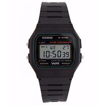 Relógio Casio F-91 W Alarme F-91w