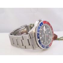 Relógio Gmt 2 Pepsi + Safira + Sedex Grátis