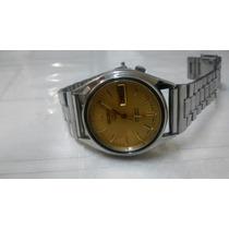 Relógio Seiko 5 Automatico Masculino Antigo