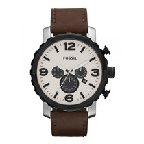Relógio Fossil Jr1390 Nate Leather Original