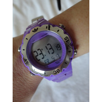 Relogio Roxo Adidas Adh 6036 660910 Water Resistant 5atm