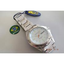 Relogio Atlantis-gigante-branco-brasil Relógios