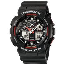Relogio Casio G-shock Ga 100 1 Wr-200 5 Alarmes Hora Mundial