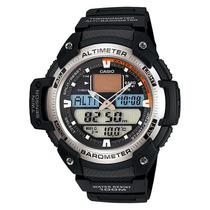 Relógio Casio Outgear Sgw-400 H Altimetro Barometro Bor Pt