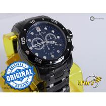Invicta Pro Diver 0076 Black Ionizado 48mm Swiss Original