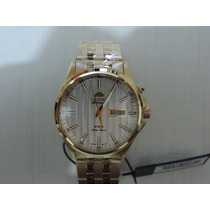 Relógio Orient Automático Gp043 Dourado Requintado Luxuoso