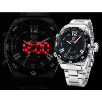 Relógio Shark- Envio Imediato- Esportivo- Original
