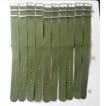 Pulseira Nylon Verde Militar Nato 20mm