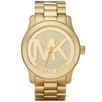 Relógio Michael Kors Mk5473 Dourado Lindo À Pronta Entrega.