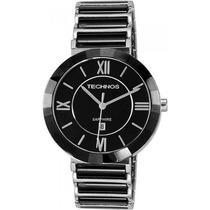 Relógio Feminino De Luxo Ceramic Sapphire 2015bx/1p Technos