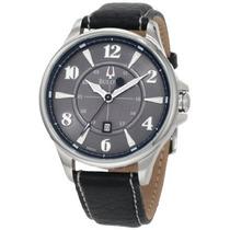 Relógio Bulova Masculino 96b151 Couro Em 12 X Sem Juros