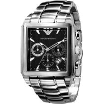Relógio Empório Armani - Ar0659 Fundo Preto - Kaká