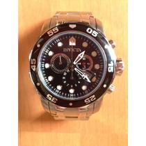 Relógio Invicta Pro Diver 0069 Black Dial Chronograph Troco
