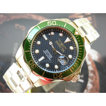 I N V I C T A Relógio Invicta 14358 Pro Diver Plaque Ouro