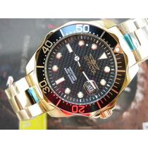 I N V I C T A Relógio Invicta 14356 Pro Diver Plaque Ouro