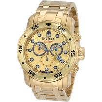 Relógio Invicta Pro Diver Gold - Ouro 18k 0074