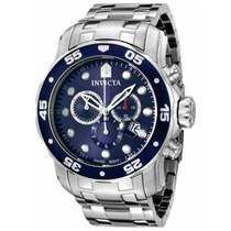 Relogio Invicta 0070 Pro Diver Collection - Cronógrafo Azul