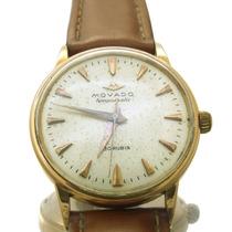 Relógio Movado Tempomatic Masculino Em Ouro Rose 18k J10166