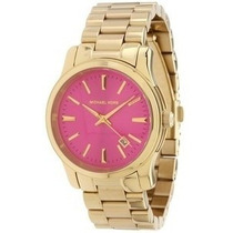 Relógio Michael Kors Mk5801 Pink Original, Garantia,