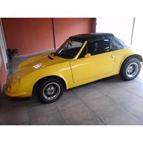 Puma Gts Amarelo 1976 - Conversível - Recém Reformado