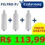 Promoção Refil Filtro Colormaq - Kit 3 Pçs Frete Grátis