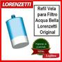 Vela Refil Do Filtro Acqua Bella Lorenzetti Original