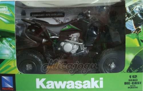 Quadriciclo Kawasaki Kfx 450r 2009 1/12 New Ray Lançamento