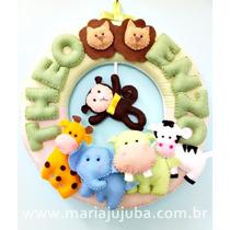 Guirlanda Gemêos Safari - Porta Maternidade Gemêos / Meninos