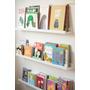 Prateleiras (3 Unid.) Para Expor Livros Criancas - 90cm