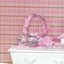 Cesta 3 Potes Para Quarto De Bebê Menina Coleção Patricinha