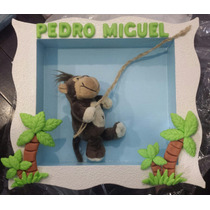 Porta De Maternidade Quadro Decorativo Bichos/boneca C/ Nome