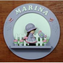 Quadro Maternidade - Menina, Jardim, Camponesa, Zoo