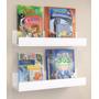 Prateleira Decorativa Livros Infantil U 70 L X 11,5 A X 12 P