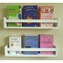 Revisteiro Prateleira Decorativa Livros 45 L X 11,5 A X 10 P